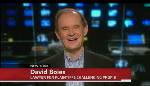 video of Attorney David Boies on PBS Newshour