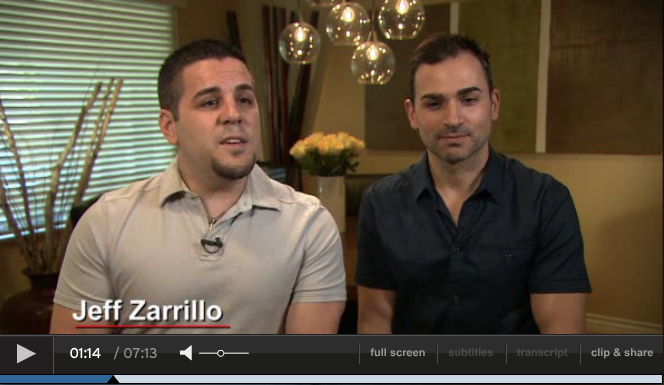video of NBC Nightly News: Couple in fight for gay rights: 'The last remaining civil right'