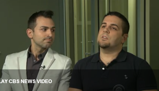 video of CBS News: Gay couple optimistic about Supreme Court case
