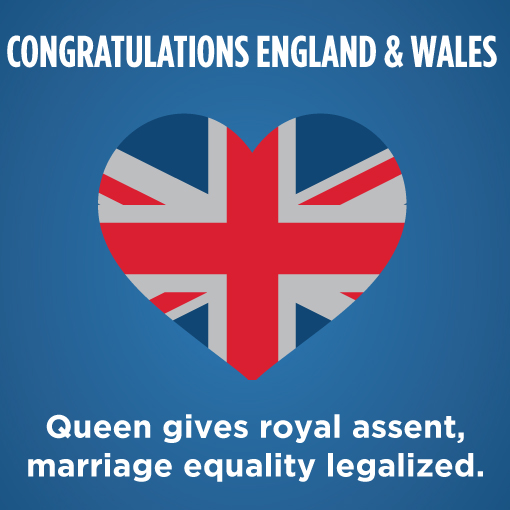 Marriage Equality Legalized In England And Wales American