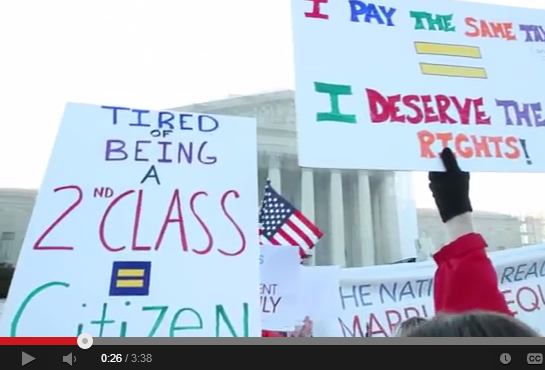 video of 2013: A Historic Year for Marriage Equality